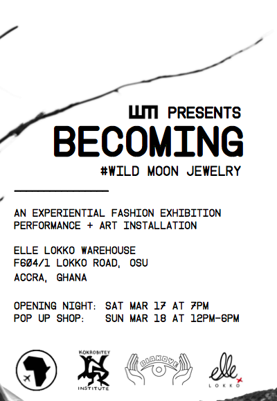 BECOMING: Wild Moon Jewelry Exhibition (and Sunday)