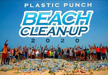 Plastic Punch Beach Clean Up