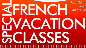 French Vacation classes for JHS & SHS students (all summer)