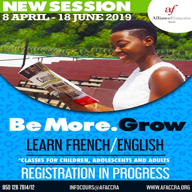 New Session for French & English classes (ONGOING)