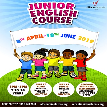 Junior English Course (ONGOING)