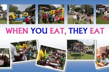 'When You Eat, They Eat' 2014 (ongoing fund-raising)