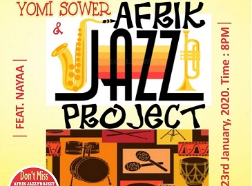 Afrik Jazz Project maiden concert